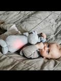 Pelouche per bambini Moonie- Coniglio calmante Sky