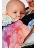 Marsupio Ergonomico LennyLamb - Lennygo Toddler  Mesh Swallow Rainbow Light