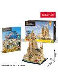 Puzzle tridimensionale Cubic Fun- National Geographic La Sagrada Familia