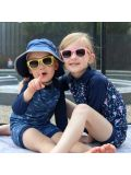 Occhiali da sole per bambini Jan e Jul con lente scura in vari colori