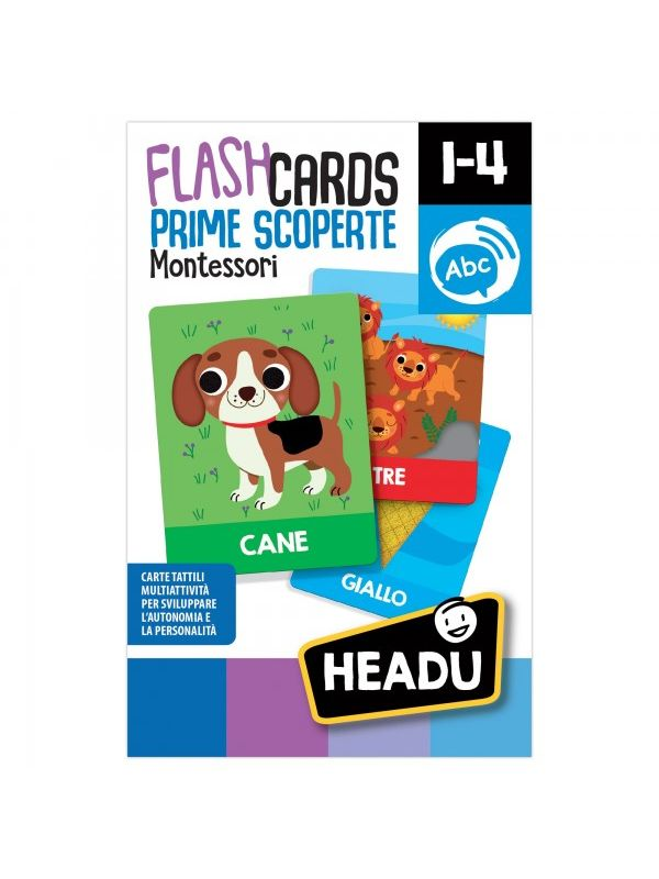 Headu-  Flashcards Montessori nuove scoperte