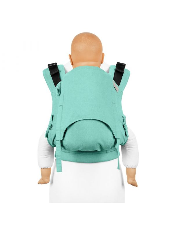 Marsupio Ergonomico Fidella Fusion 2.0 Full Buckle Toddler - Chevron Mint